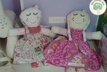 Maxi Dollies / Memory Dollies are treasured keepsakes made from your child's precious first garments. Ideal New Baby, Baby Shower,Christening presents. Find out more about ordering and prices (from £22.50) at http://bit.ly/1gwGTbP or PM me.
