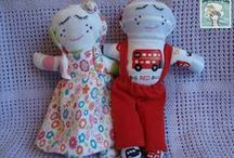 Mini Dollies / Memory Dollies are treasured keepsakes made from your child's precious first garments. Ideal New Baby, Baby Shower,Christening presents. Find out more about ordering and prices (from £22.50) at http://bit.ly/1gwGTbP or PM me.