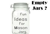 Empty Jars - Crafts / Here's some craft that you can do with your empty jars / by Jamazin' Jams