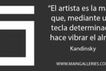 Art Quotes / We want to share with you the quotes we love about art