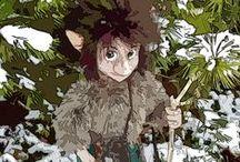 """Welcher Naturgeist ist das? / """"Welcher Naturgeist ist das? Eine Art Bestimmungsbuch"""" ist ein Buch über Elfen, Zwerge, Hausgeister usw. im deutschsprachigen Raum, erhältlich bei Amazon. Es ist reichbebildert und viele Bilder wurden von mir selbst kreiert. Die stelle ich zum Teil hier vor."""