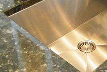 Undermount Kitchen Sinks / Amazing new feature -  eliminates the ugly drain seam -  Shop Now! For More, Get Started Today! https://www.creategoodsinks.com/  #undermountkitchensinks