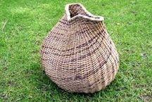 Willow baskets. Eget flet / Pileflet Dorthe Steffensen