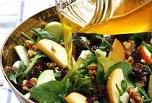 Salads / Green, Leafy and Delicious