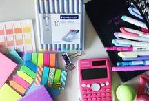 School stuff / School things, notes