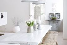 SPACES | Kitchens, Dining Rooms / Classic + Modern kitchens, dining rooms, home decor, home style.