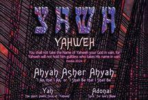 YAHWEH -  Tú  Palabra