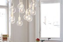 Interior lighting_Homes / Inspirations and ideas the indoor lighting.