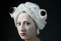 Toilet Paper Art / toilet paper sculpture and other artistic banalities