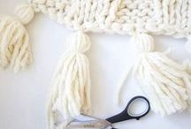 DIY | Yarn Crafts / All yarn crafts and DIY for the home (weaving, embroidery, knitting, crochet, wall art). Home decor, home accessories, and home style to get inspired by.