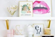 STYLE | Shelves & Surfaces / Home design, home decor, home accessories to get inspired by in the modern, eclectic, vintage, and Scandinavian inspired home.