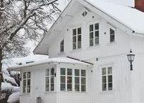 White * Christmas * House