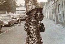 Leopard Museum / Leopard aesthetics. Faux fur. Cat woman. Vintage leopard print.
