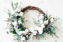 DIY | Wreaths / Wreath tutorials, DIY and crafts to beautify the home. Home decor, home accessories, home style for the modern, eclectic home.