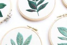 DIY | Embroidery etc / Embroidery, needlepoint, punch rug and related finds to decorate the home, including tutorials, crafts, and DIYs to inspire your inner creative!