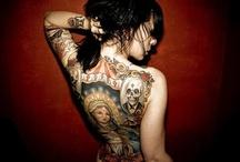 Tattoo ideas / tattoos, tattooed women, tattoos, tattoo designs