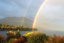Editing in Paradise / Lake Wakatipu, New Zealand. A place of inspiration for a novelist.