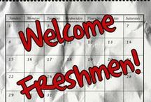 Just for Freshmen / by USI-Student Development Programs