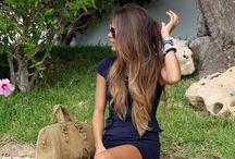 Hair color / #haircolor #ombrehair #highlight