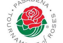 ♥ TOURNAMENT OF ROSES PARADE - Pasadena, CA  / On Jan.1st, 1890 Pasadena's Valley Hunt Club staged the 1st parade of horse-drawn carriages covered in flowers. Bands & floats were added & by 1900 the Pasadena Tournament of Roses Assoc. was created.  The Wrigley Mansion became the the Tournament House in 1958.  The parade's 5.5 mile route begins on Orange Grove Blvd. to Colorado Blvd. turning north on Sierra Madre Blvd. ending @ Paloma St. each New Year's Day (except Sundays, when the march takes place on 1/2.)  /sr    / by Sharon Richardson