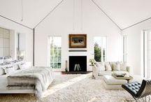Flexform Interiors / Interior spaces featuring Flexform furniture