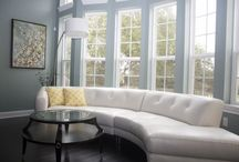 Purposeful Living Rooms / Industrious Interiors' completed living room spaces