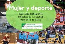 Bib. Fac. Ciencias del Deporte / Exposiciones organizadas por la Biblioteca de la Facultad de Ciencias del Deporte (Universidad de Granada)