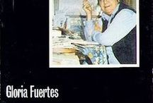 """Gloria Fuertes / La Biblioteca Universitaria de Granada se une a la celebración del """"Centenario de Gloria Fuertes"""" con una selección de obras de la muestra bibliográfica organizada por la Biblioteca de la Facultad de Ciencias de la Educación y además os invita a participar en el concurso una """"Una gloria de versos"""", ambas actividades forman parte de la celebración del Día Internacional del Libro 2017."""