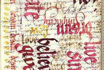 Calligraphy ideas / by Mikki Running