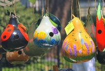gourds - paint-cut-wear / by Brenda K. Campbell