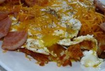 Breakfast Egg Dishes / Quiches, Stratas, Pizzas