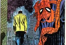 John Romita Sr's Spider-Man Art / John Romita Sr. is my favorite Spider-Man artists of all-time. Here are some fantastic panels from the pages of Amazing Spider-Man and other Spidey-related publications.