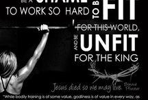 FitFaith Motivation / Inspiration, Motivation and Quotes to get it DONE!