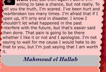 Mahmoud El Hallab / Beautiful words