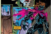 "Kaine / Kaine, aka the Scarlet Spider, aka the demented, curse-bearing clone of Spider-Man is a byproduct of the much reviled ""Clone Saga"" of the 1990s but has been a mainstay in Spider-Man's universe for years."