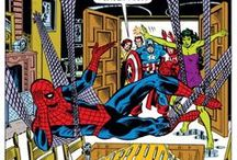 "Spider-Man and the Avengers / Spider-Man and the Avengers have had a hot and cold relationship since the Silver Age. Here's a look at some images showing Spidey with ""Earth's Mightiest Heroes."""