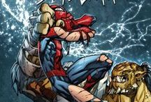 "Joe Madureira Spider-Man Art / Joe Madureira, aka, Joe ""Mads"" is one of the most famous artists in Marvel history and has worked on Spidey titles such as Avenging Spider-Man."