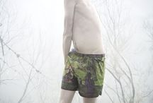 Upcycled  shorts / WET is an annual collection of unique swimshorts made from broken umbrellas textiles, collected in several cities during the winter season.  Each model's unique and carefully crafted. WET trunks are for sale at our online store.