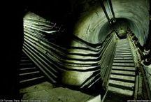Underground - souterrains / photos de lieux souterrains