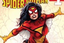 Spider-Woman / Images of Jessica Drew, the original Spider-Woman