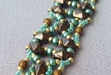 New Beads: Diamonduos / Ideas and ways to use the new Diamonduo beads!