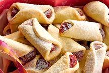 Bolos, pães, biscoitos e tortas