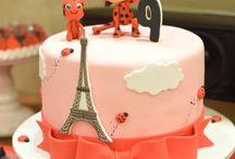 Festa Lady Bug/Paris / Aniversário