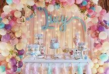 Painéis e decorações pra festa