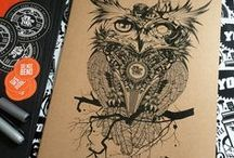Cool art ideas / Beautiful signed artwork from Fat Punk Studio. Prints, Posters and Canvases - http://www.fatpunkstudio.com/shop