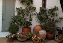 garden...porch...potting house / outside / by Michele