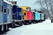 trains / by Hazel Beth Horn
