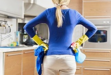 Keepin' it Clean / Tips on how to keep everything in and around your home CLEAN.....