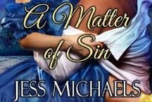 A Matter of Sin (Ladies Book of Pleasures Book 1) / Lady Isabel chaperones her younger sister to a country house party, & steals a copy of the notorious Ladies Book of Pleasures from the host's library. Seth Rowland, Marquis Lyndham, is shocked when he learns who absconded with his book. Though older than the women he'd planned to court, the powerful beauty exudes a sensuality he cannot ignore.They begin a passionate affair. But their time together is running out & they must choose. Follow society's rules, or take a chance at love.