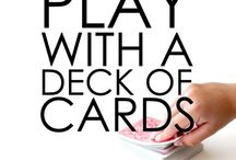 cards + games / by Kelly Thompson